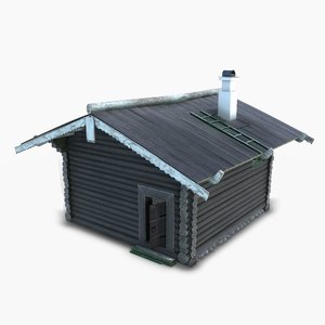 bathhouse russian 3D model