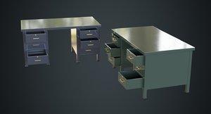 desk 1a 3D