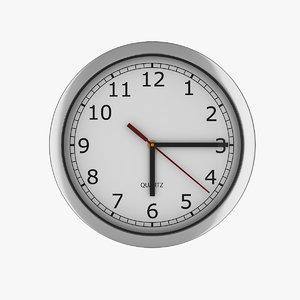 modern wall clock model