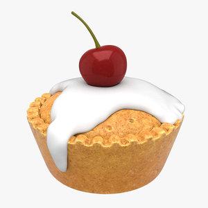cherry bakewell 3D model