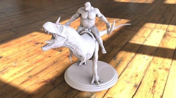 art fantasy 3D model