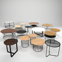 coffee talbes table 3D