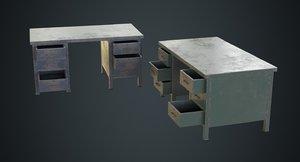 desk 1c model
