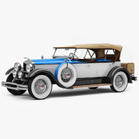 Lincoln Model L Dual Cowl Sport Phaeton by Locke 1930