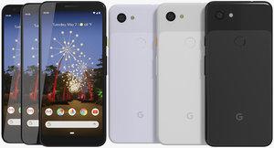 3D realistic google pixel 3a