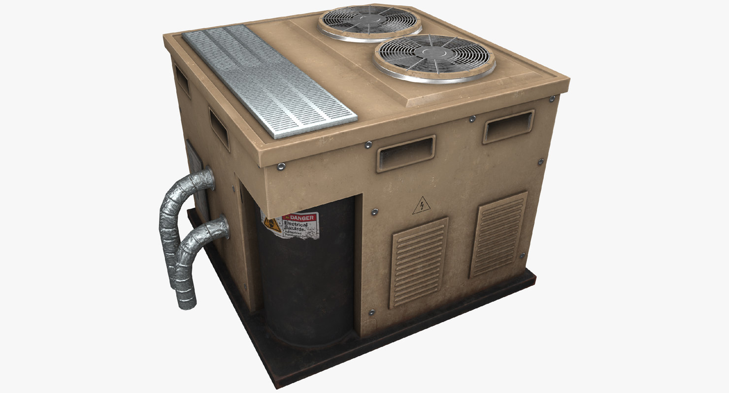 3D air condition model