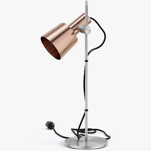chester floor lamp 3D