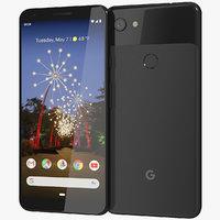 realistic google pixel 3a 3D