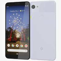 google pixel 3a xl 3D model