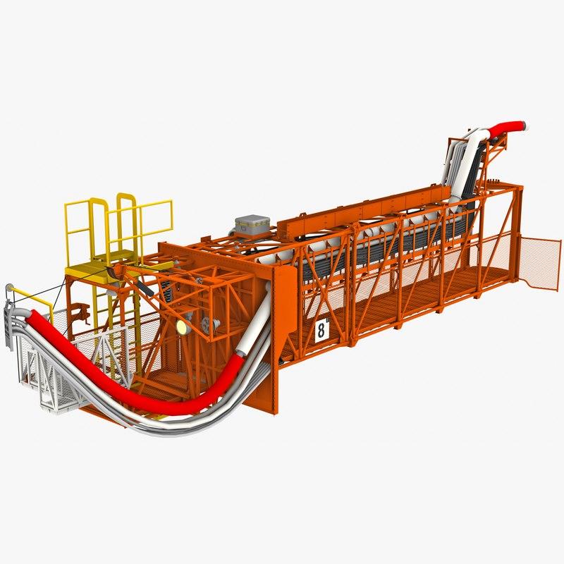 swing arm 8 apollo 3D model
