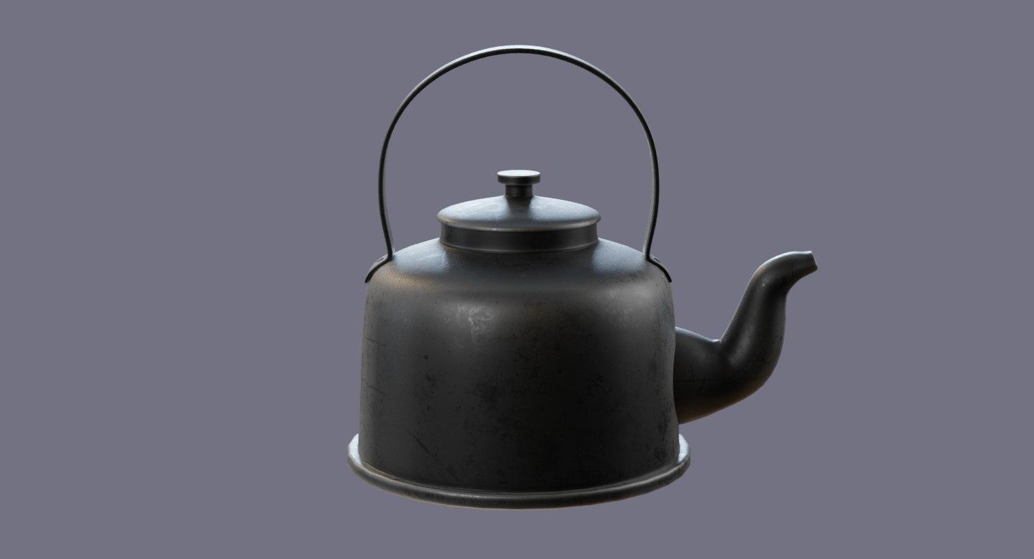 kettle arabic 3D model