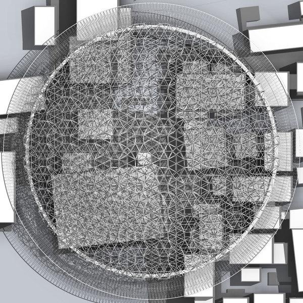 3D louvre abu dhabi model