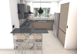 kitchen design model
