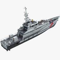 3D damen stan patrol vessel