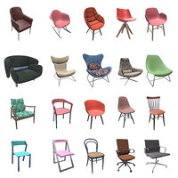 3D chairs pbr