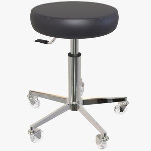3D stool tool adjustable model