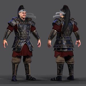 character armor 3D model