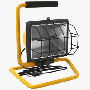 3D real mobile construction light