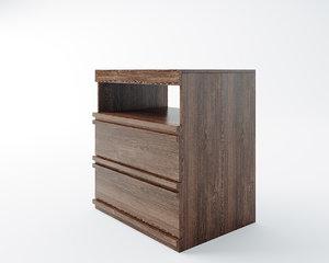 mathopen nightstand 3D