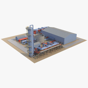3D industrial area 1