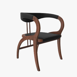peru chair armchair 3D model
