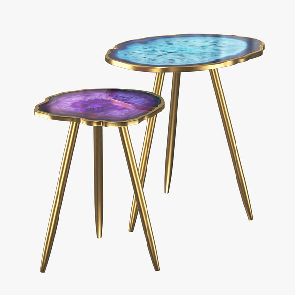 table imitation agate 3D