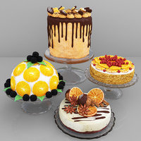 orange cake 2 3D