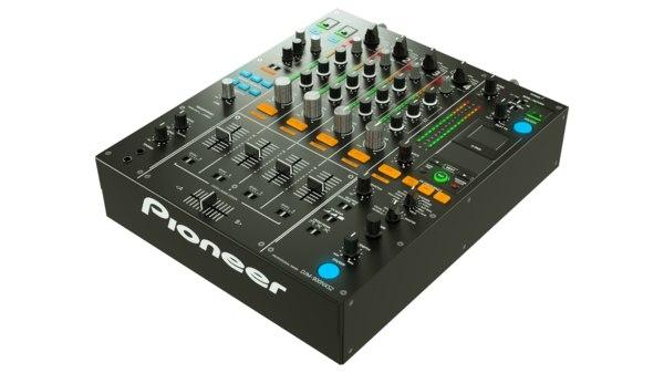 3D model pioneer mixer dj