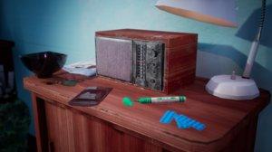 3D 1970 s props office