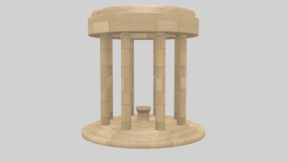 spawn temple model