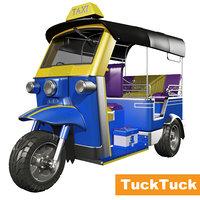 tucktuck 3D model