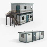 portacabin ready games 3D model