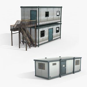 portacabin ready games 3D model
