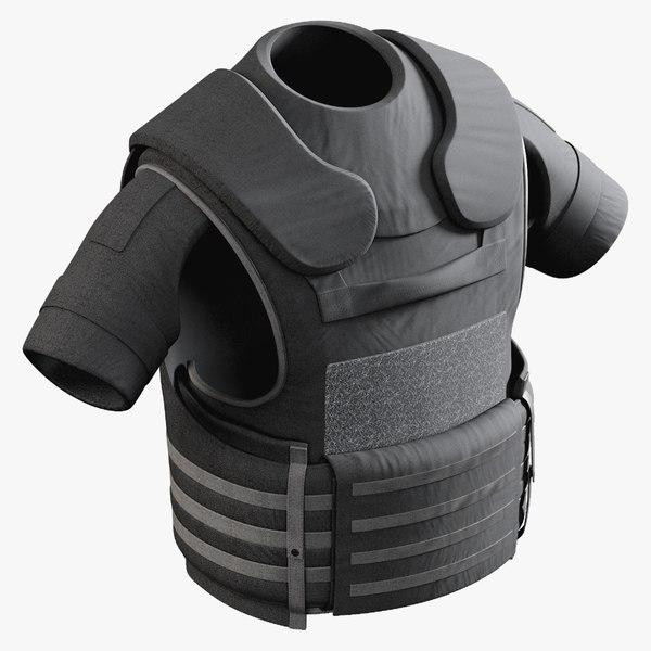 3D body armor