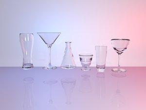 variety glasses 3D