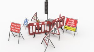 3D traffic sign polys sets