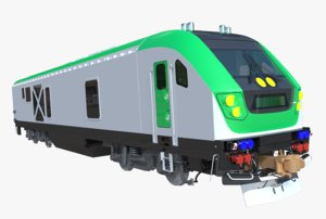 3D siemens locomotive