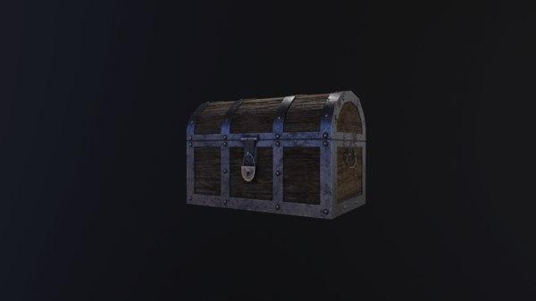 medieval chest model