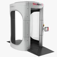 3D x-ray machine body model