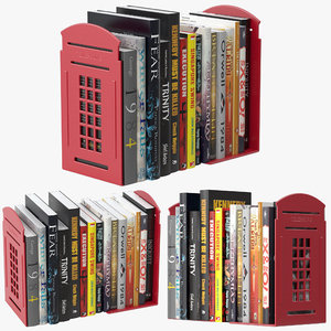 vonderso bookends telephone 3D