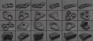 3D parts subdiv concepts
