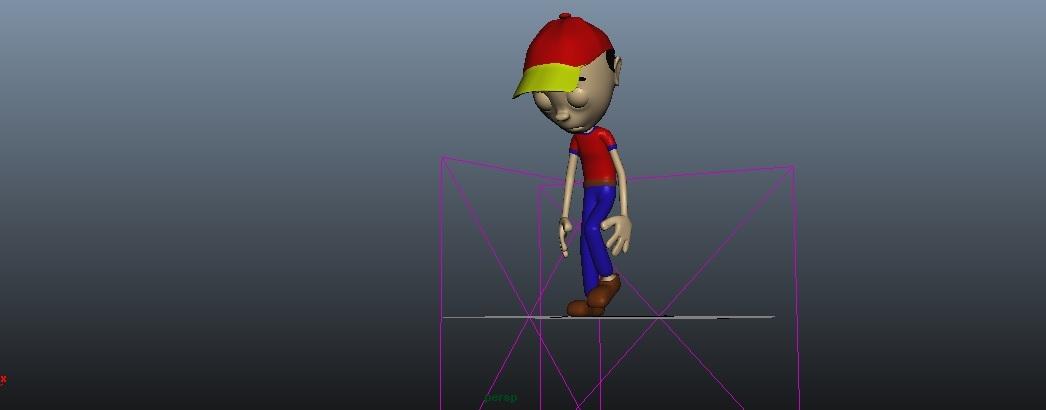 boy rig animation 3D model