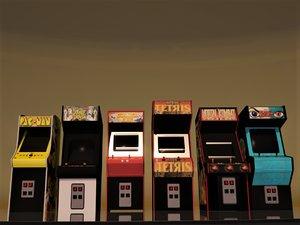 3D coin-op 80s model