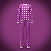 cute pyjamas - polka dots pajamas