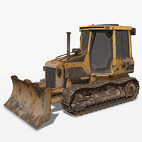 bulldozer vr ar 3D model