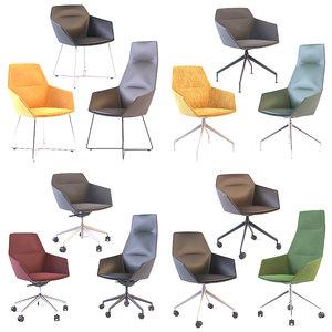chair soft 3D model