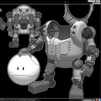 mech mecha robot 3D model