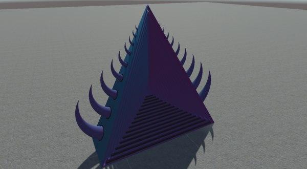 portal door 3D