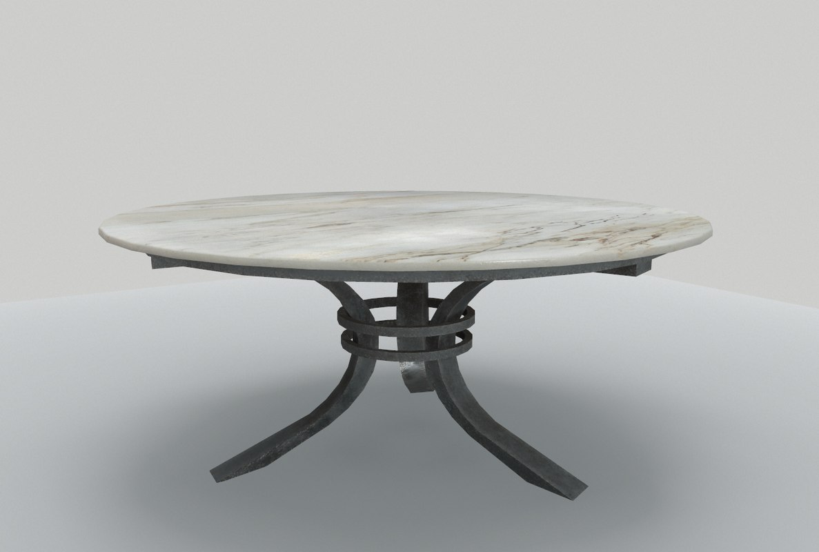table marble 3 3D model