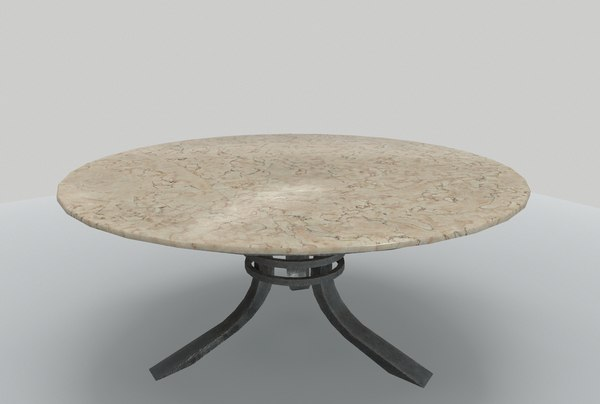 3D table marble